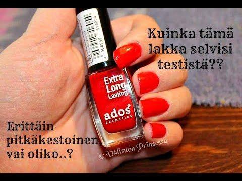Erittäin kestävä kynsilakka?