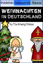 Weihnachten in Deutschland - Unterrichtsmaterial in den