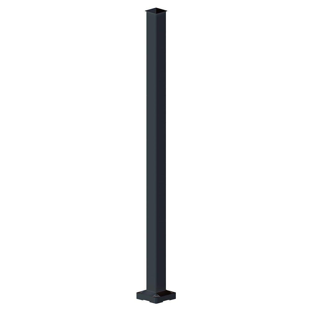 Best Peak Aluminum Railing 2 In X 2 In X 42 In Black 400 x 300