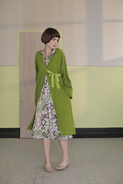 Love the green! Lilith Clothing from France