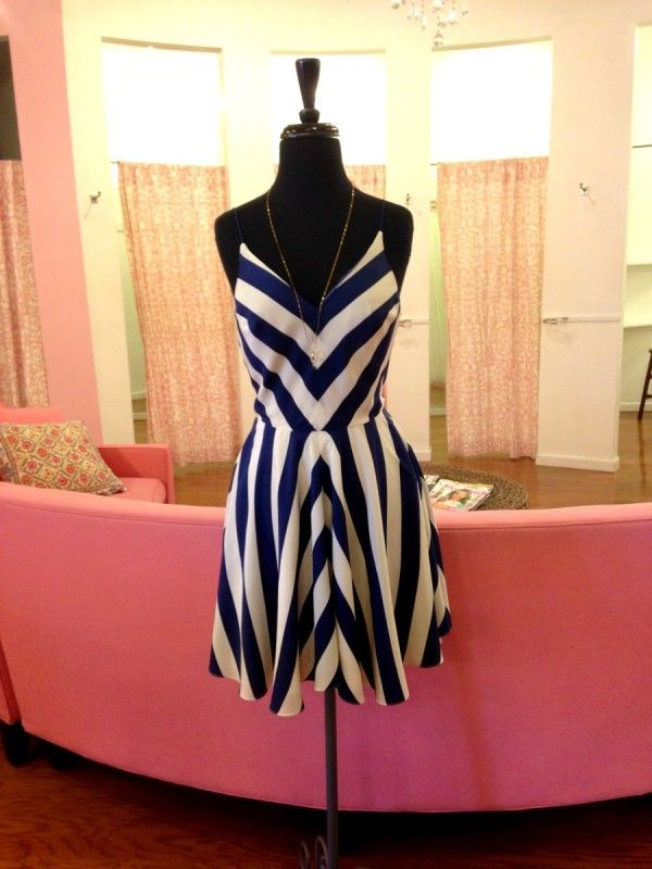 Add a jean jacket for when the it gets a little chilly. Dress: Amanda Uprichard, $234. Recommended by Style Blueprint!