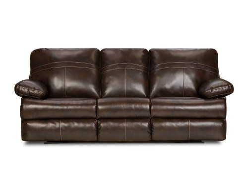 Simmons Upholstery 5098153 Miracle Saddle Bonded Leather Double Motion Sofa Read More Reviews Of The Product By Visiting The Leather Reclining Loveseat Sofa Upholstery Leather Sofa