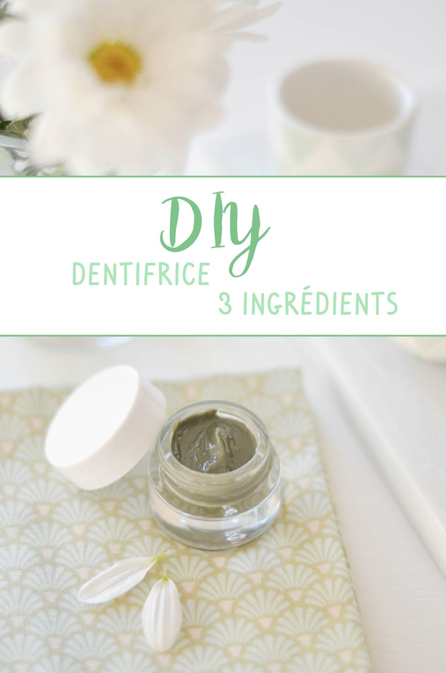 diy dentifrice 3 ingr dients 100 naturel en vid o. Black Bedroom Furniture Sets. Home Design Ideas