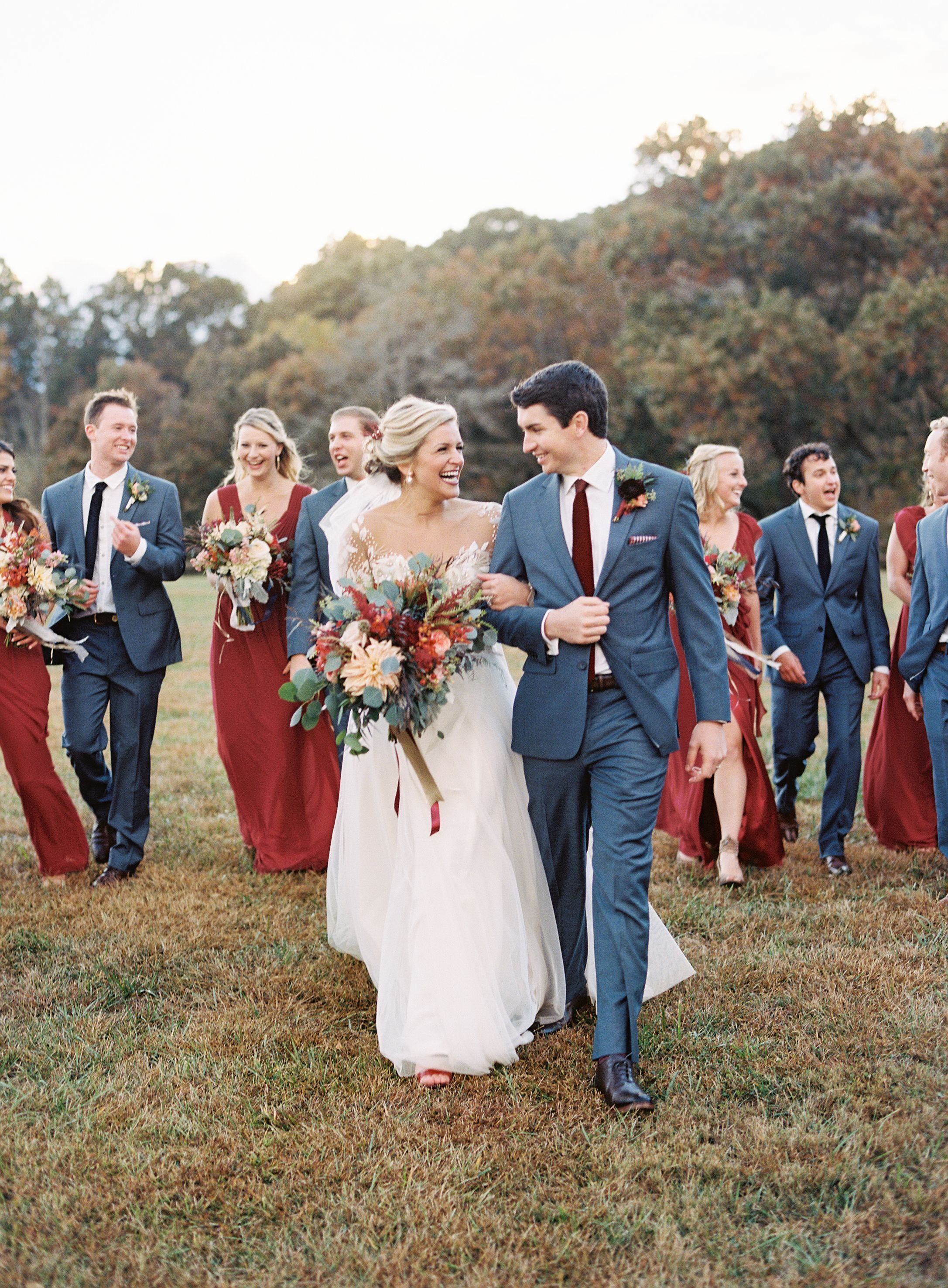 A Romantic Autumnal Country Wedding at Claxton Farm in