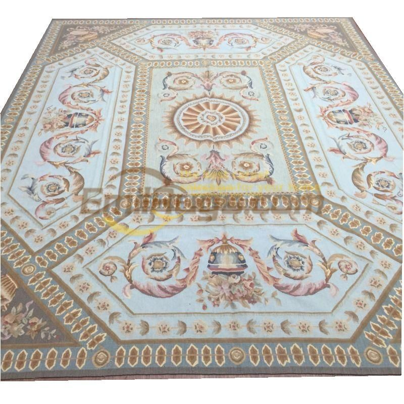 Limited Direct Selling Alfombras Alfombra Tapete Para Sala Pure Handmade Wool Carpet French 244cmx305cm 8 X 10 Gc020aubr 7 With Images Wool Carpet Stone Rug Carpet