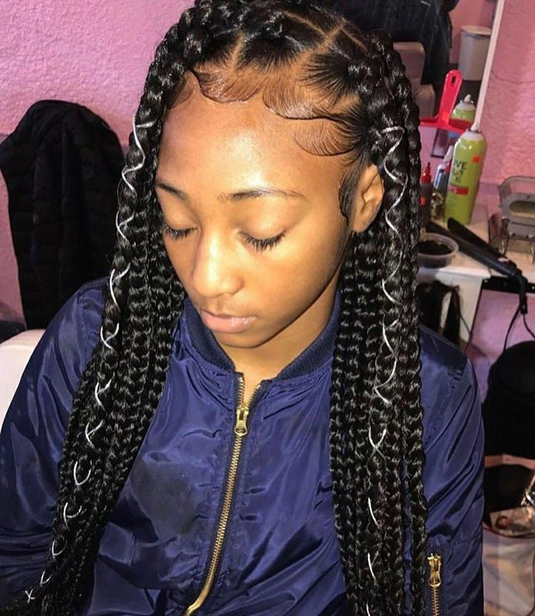 Braids With Beads Hairstyles For A Beautiful And Authentic Look Coiffure Coiffure Braids Coiffures Mignonnes