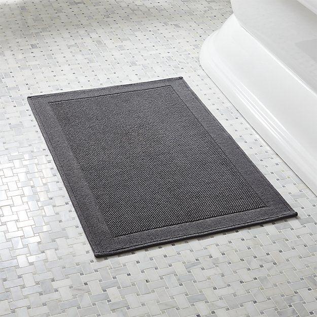 Westport Grey Bath Rug Grey Baths Bath Rugs And Bath - Gray and yellow bathroom rug sets for bathroom decorating ideas
