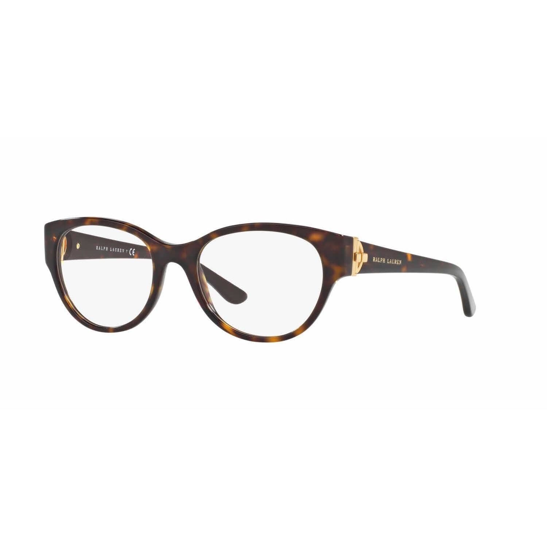 c3a850b7e99 Ralph Lauren Womens RL6150 5003 Havana Plastic Square Eyeglasses by Ralph  Lauren