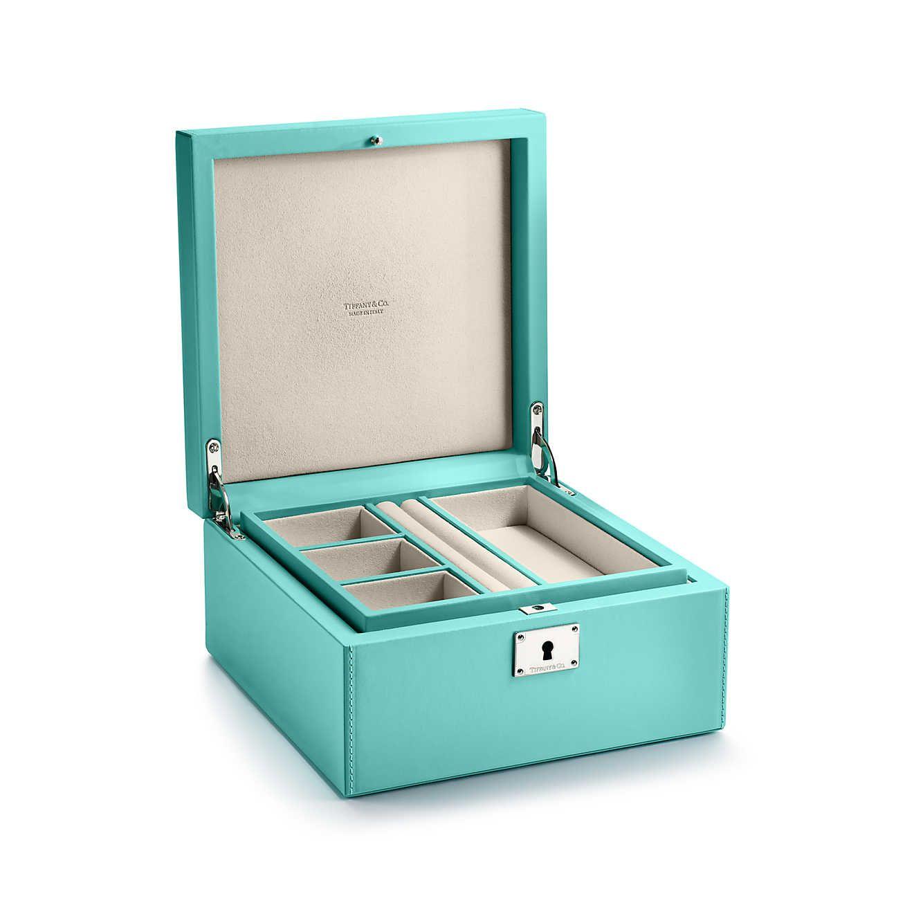 25++ Tiffany blue leather jewelry box info