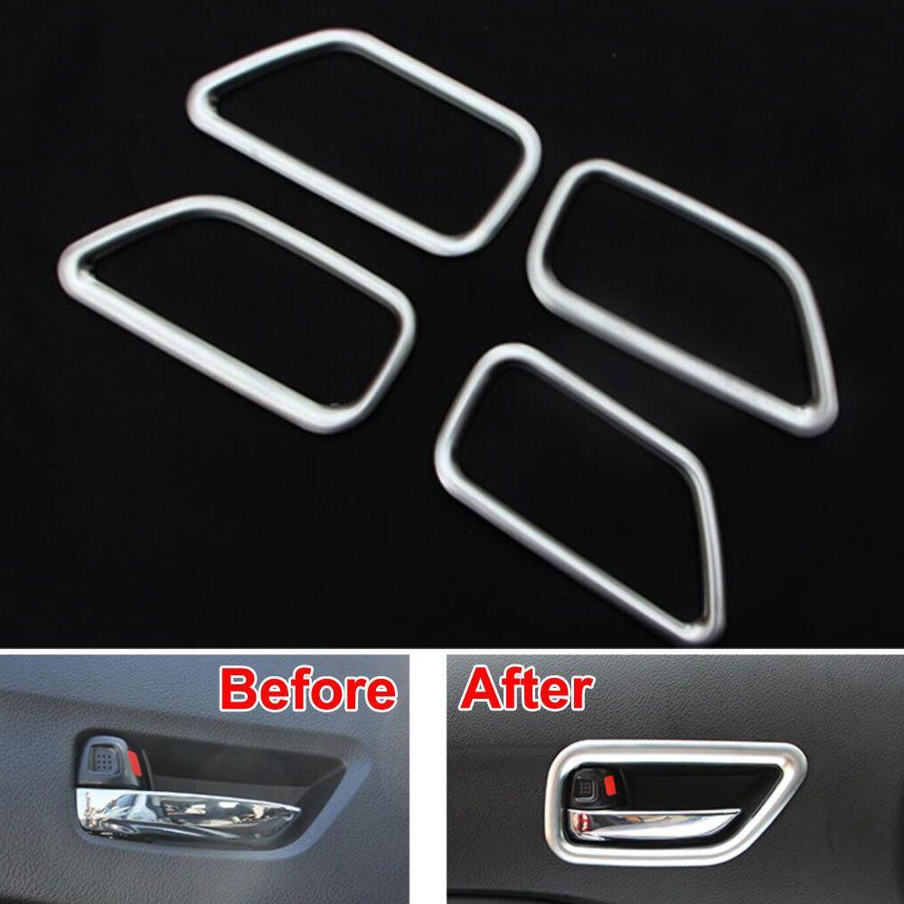 4pcs Car Inner Interior Door Handle Bowl Cover Trim Fit For Suzuki