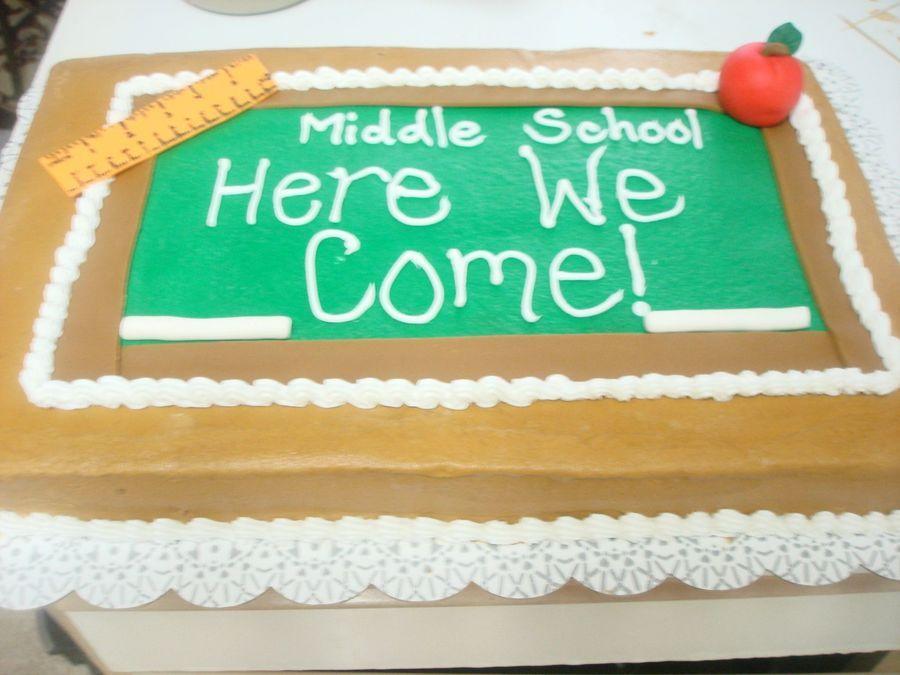 Graduation on cake central 5th grade graduation grade