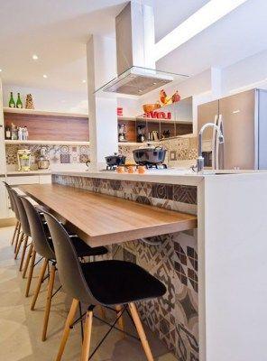 Top cucina in legno massello per colazione 200x45x5 anche su misura ...