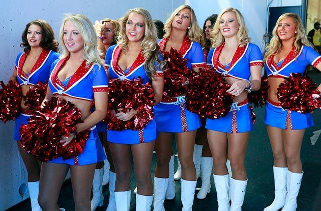 Buffalo bills cheerleaders did