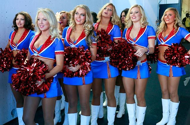 Buffalo bills cheerleaders about such
