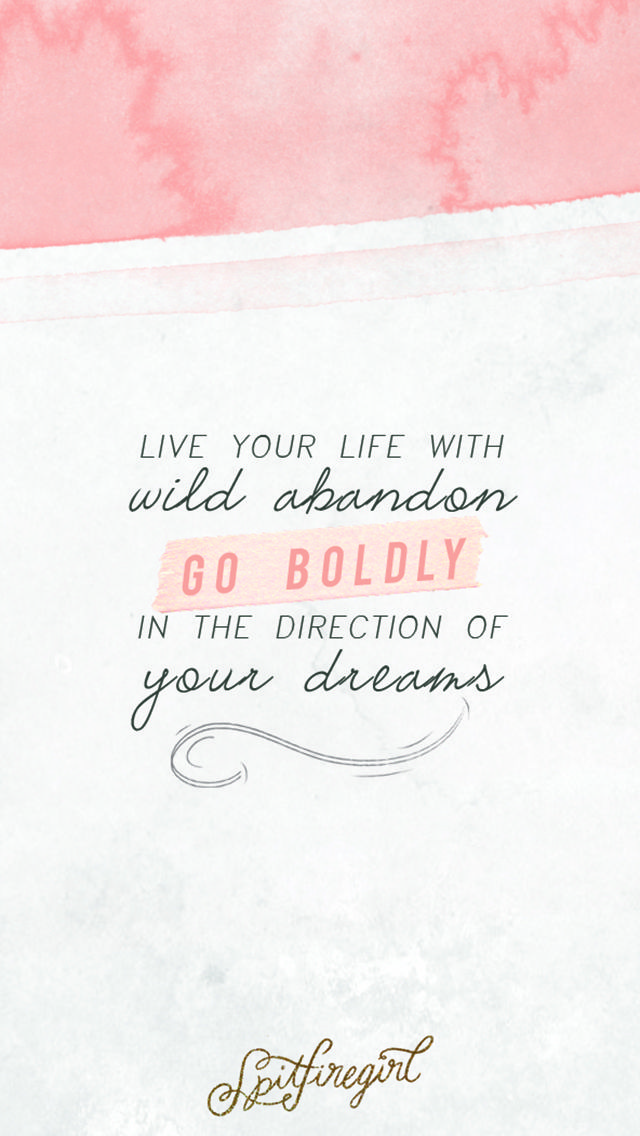 Love with abandon quotes