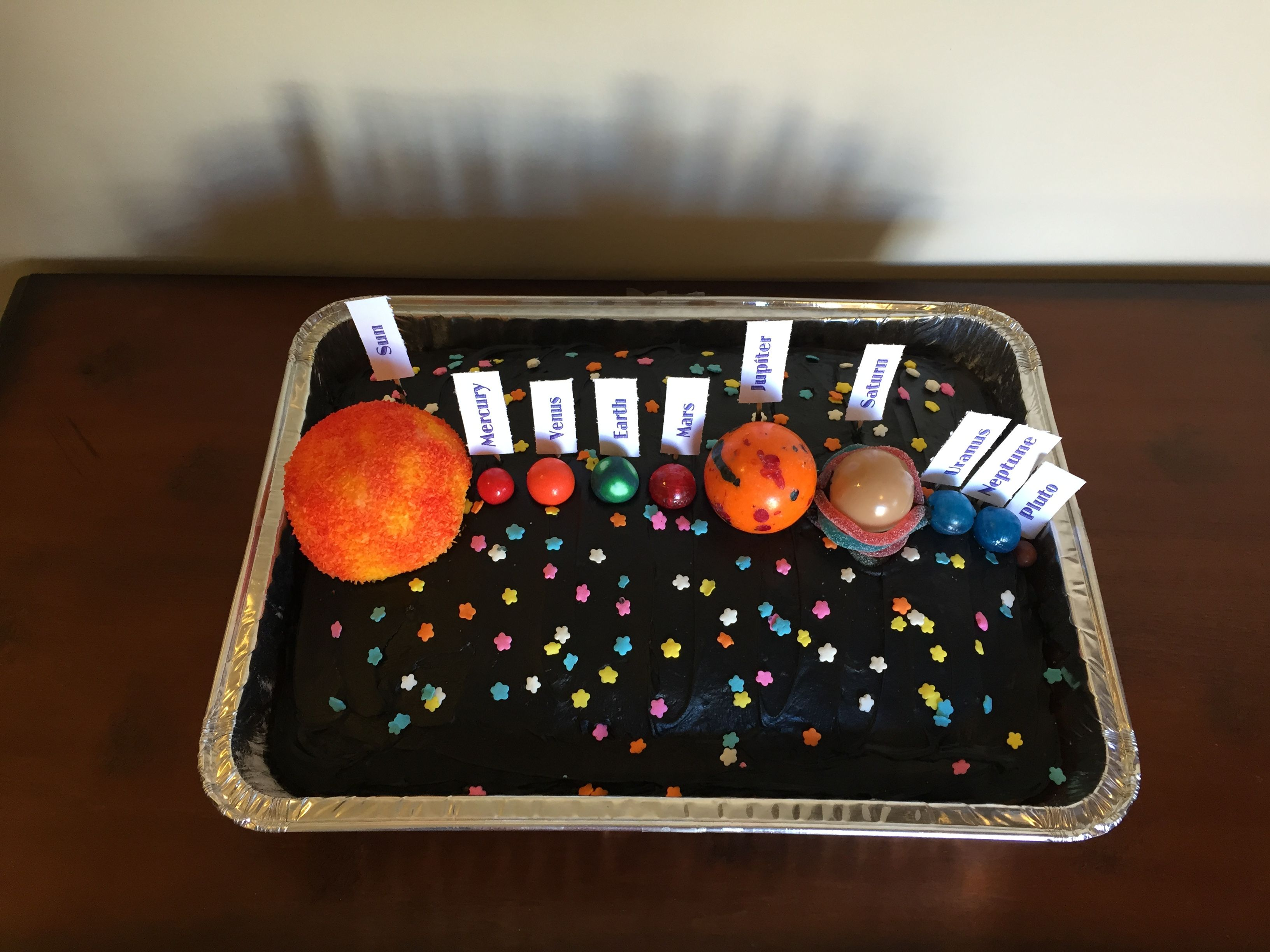 3d solar system school project - photo #7