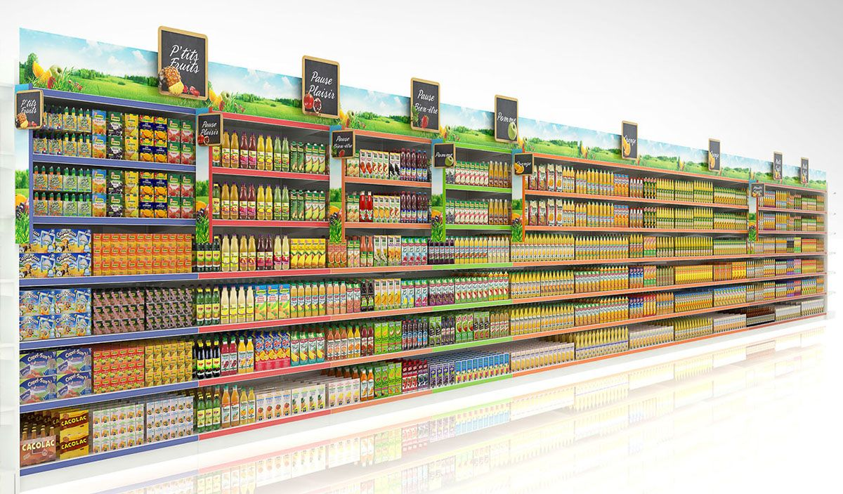 Collection Shelves Display On Behance Display Shelves Shelves Pop Display