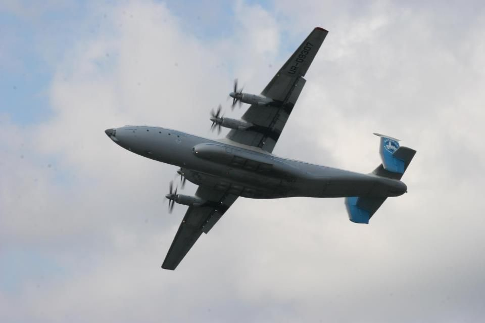 "Ан-22 ""Антей"" на авиасалоне в Гостомеле,2008 год, автор"
