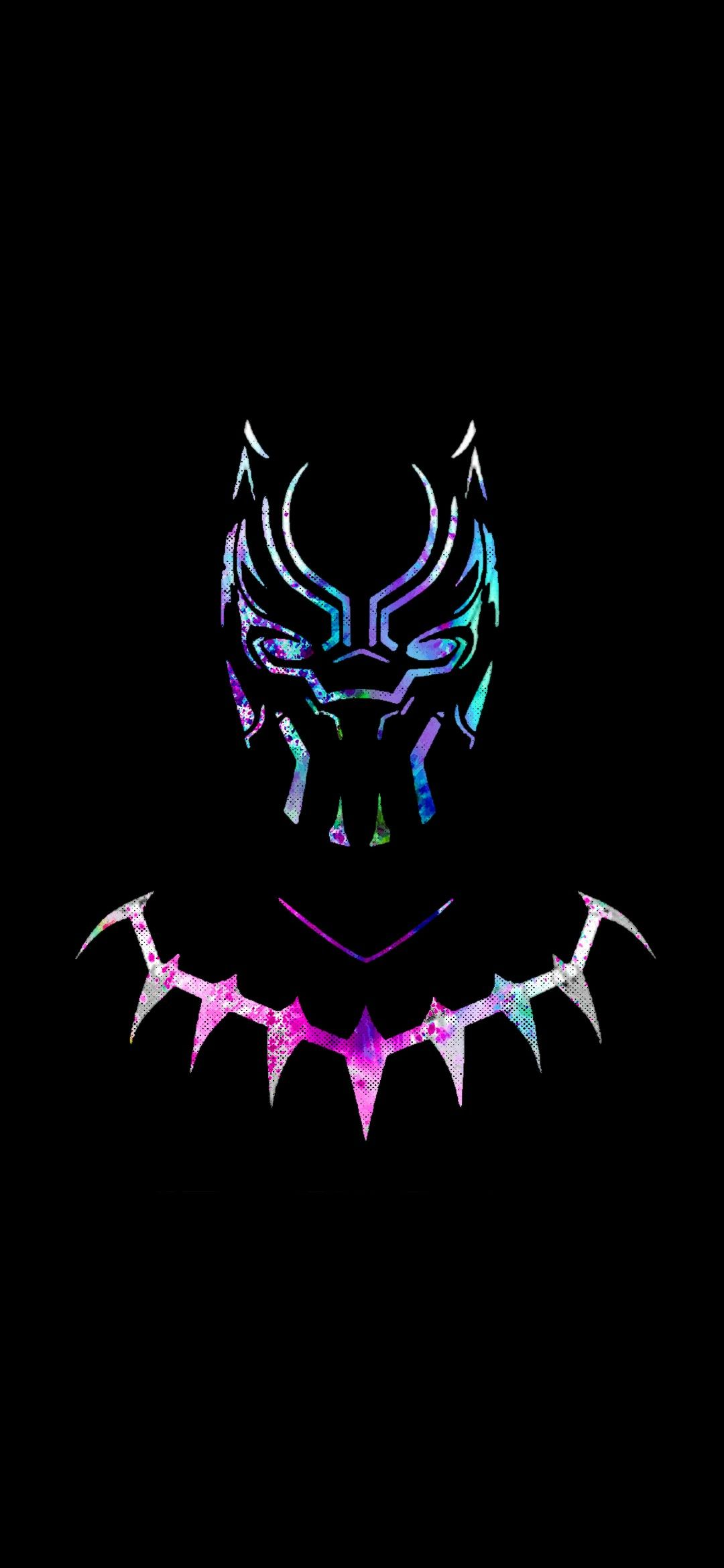 Black Panther Colored Black Panther Tattoo Black Panther Marvel Black Panther Art