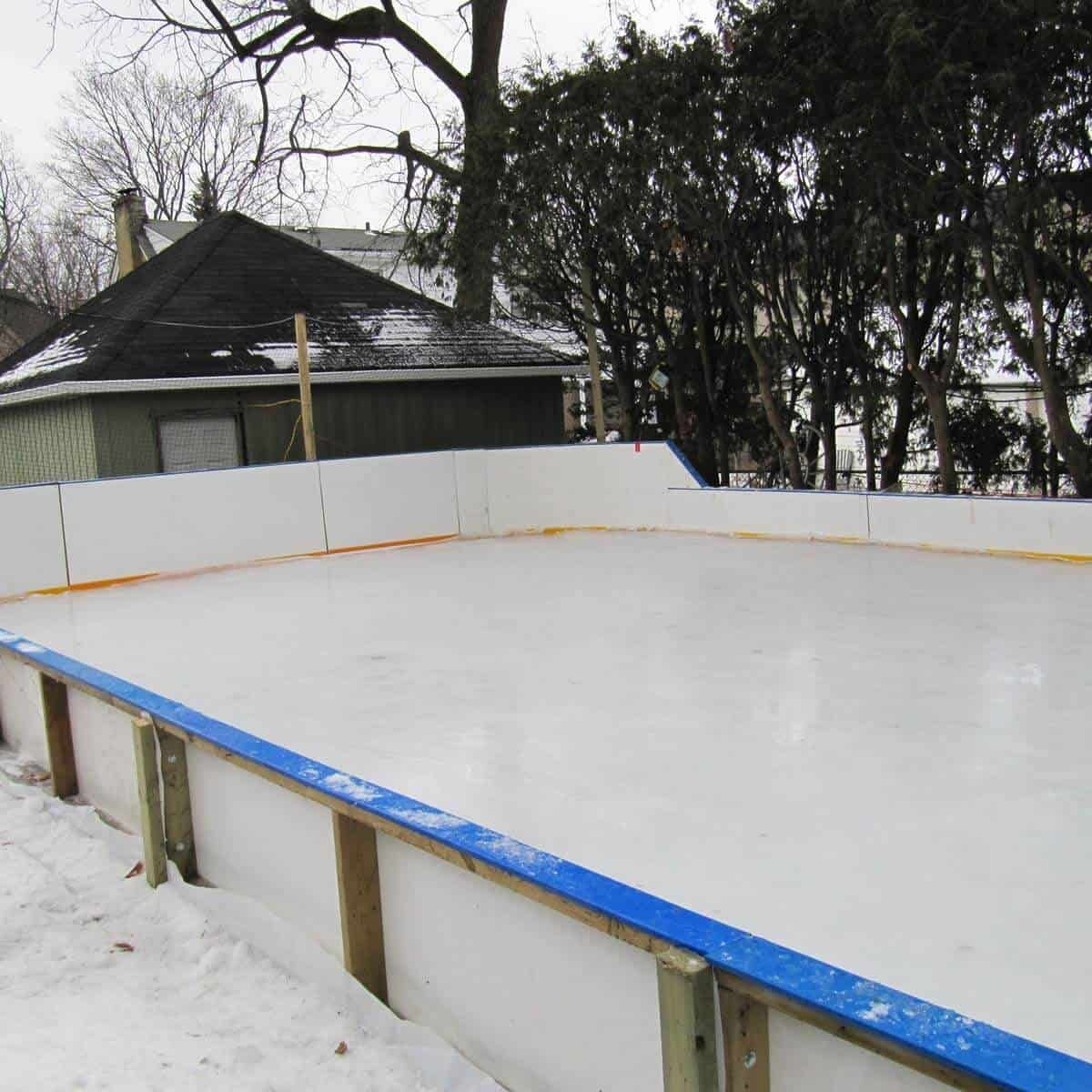 10 Ways How to Build a Backyard Ice Rink Ideas | Backyard ...