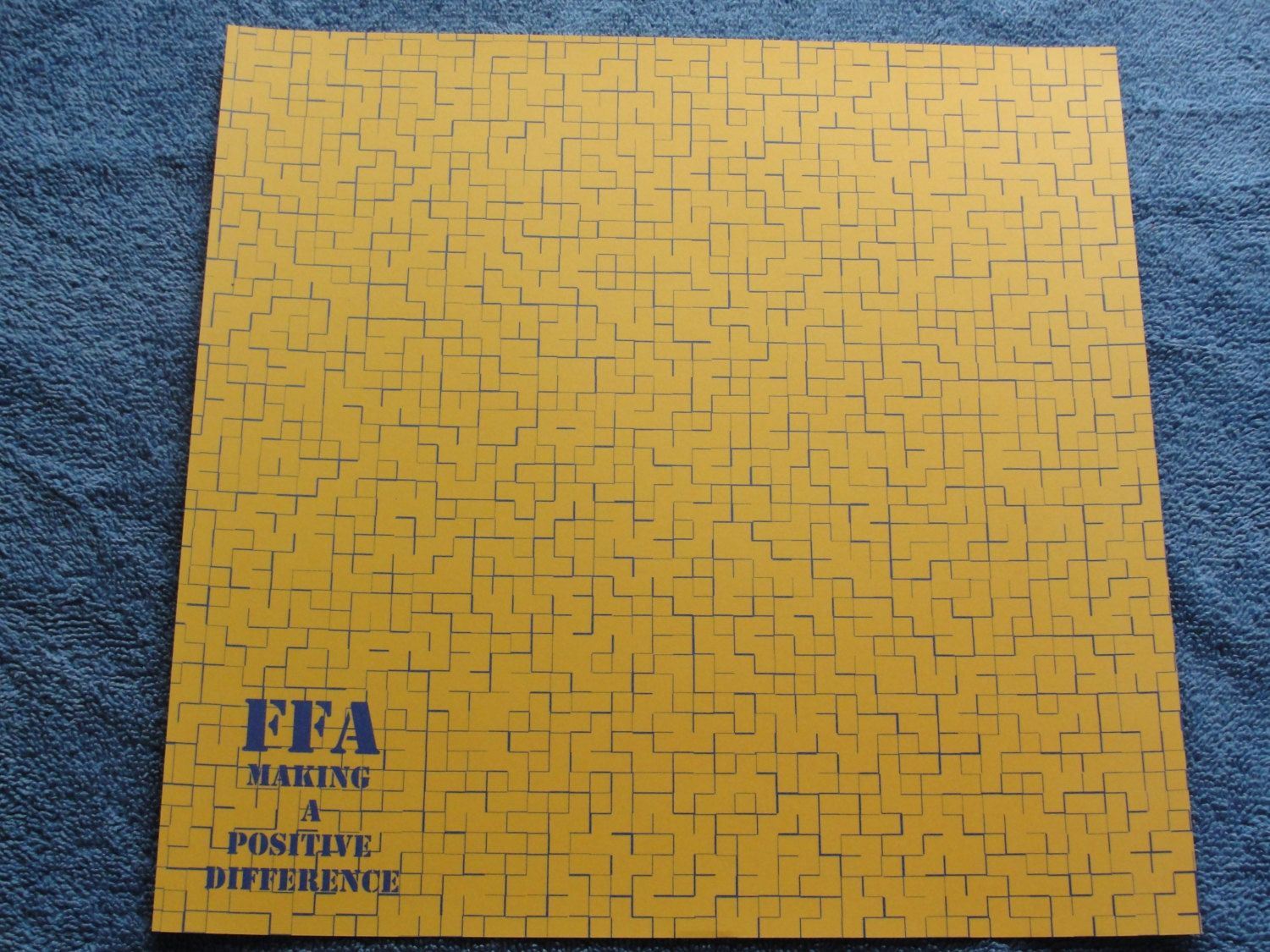 FFA 12x12 scrapbook paper FFA Making a Positive Difference by CraftsNextDorr on Etsy