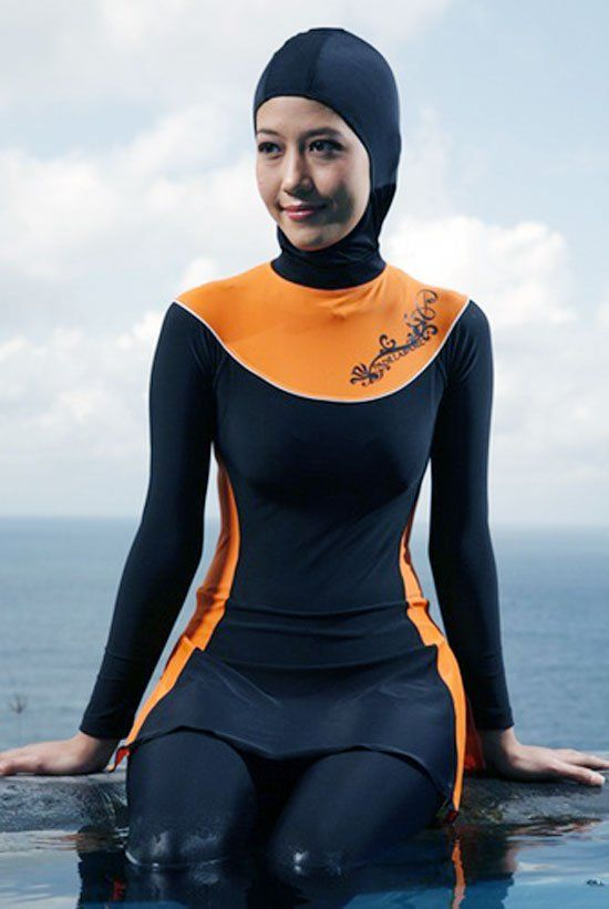 642e32f08d84b Pin by UltraUpdates on modest swimwear | Islamic swimwear, Muslim ...