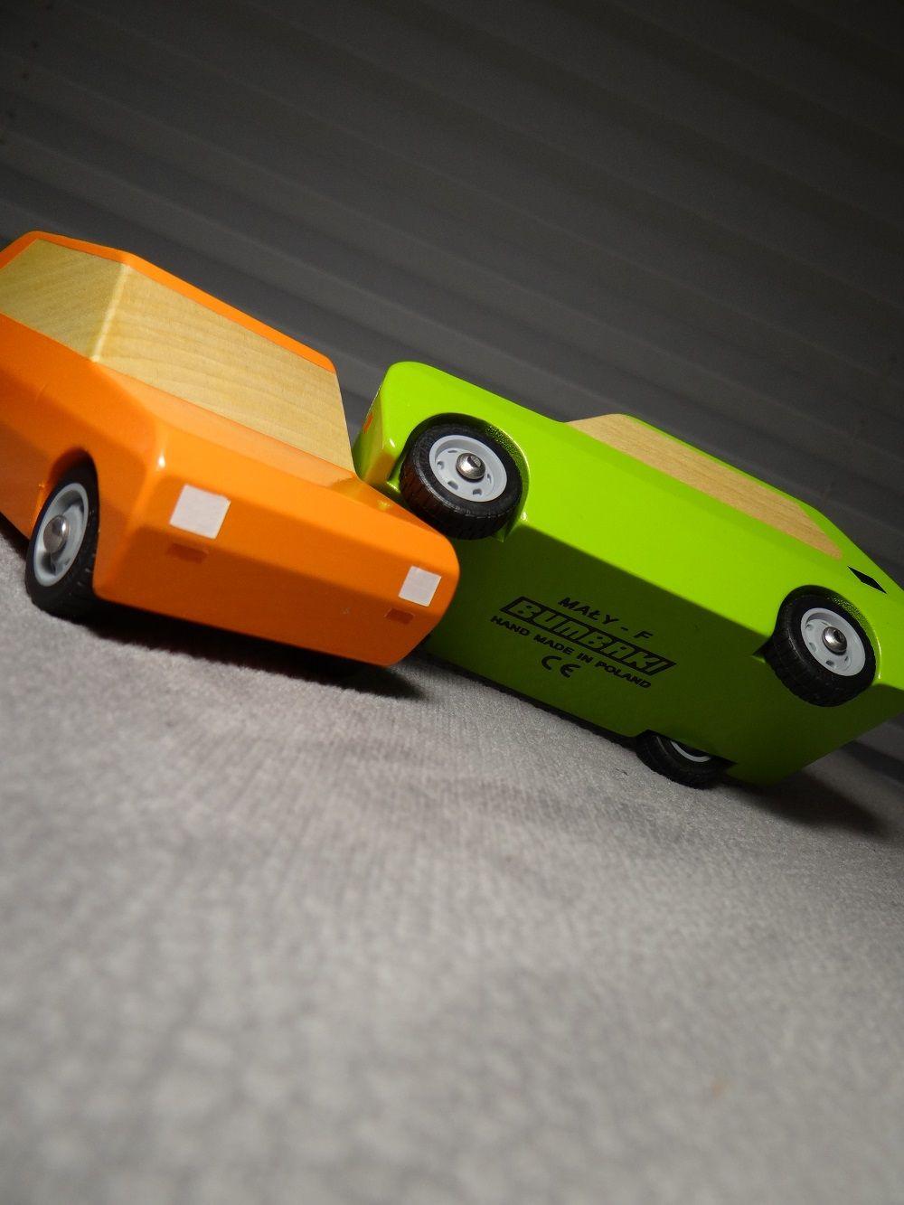 Recznie Wykonane Auta Drewniane Maluchy Polski Fiat 126p Idealny
