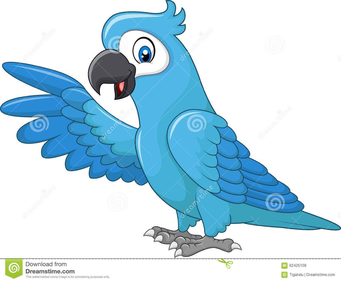 Resultado De Imagem Para Imagem De Ararinha Azul Para Colorir Com