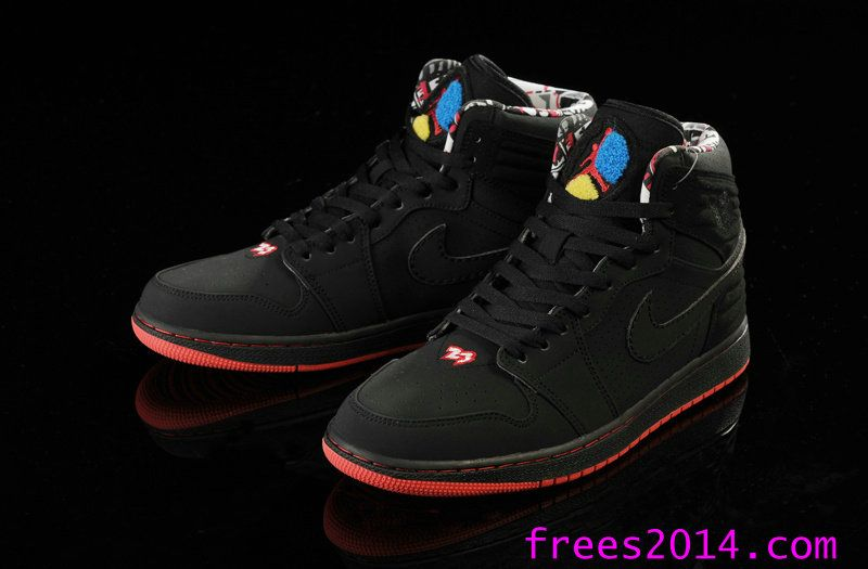 Air Jordan 1 Retro 93 Black True Red Anthracite 580514 032  a4ee8d2d0