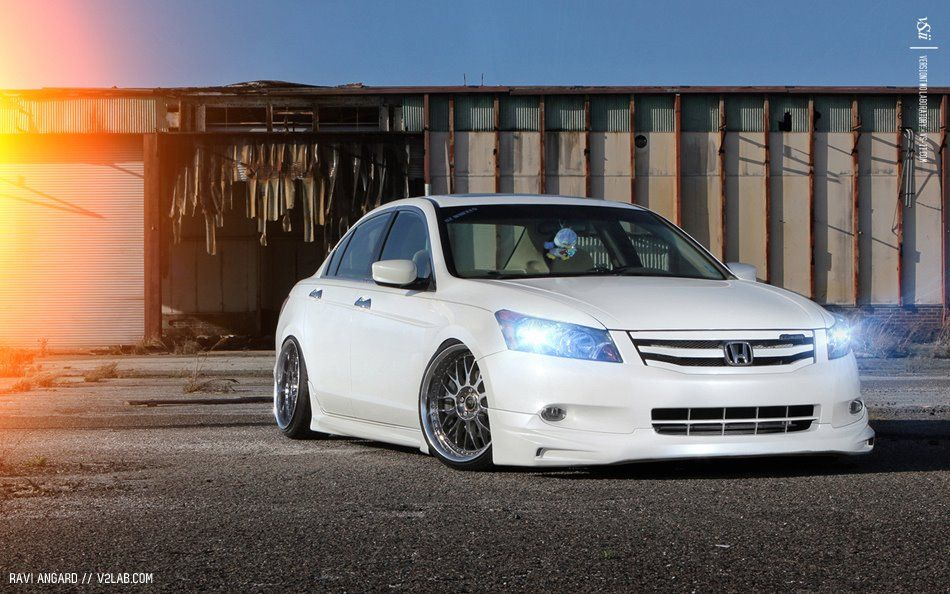 Stanced Accord (With images) Honda accord custom, Honda