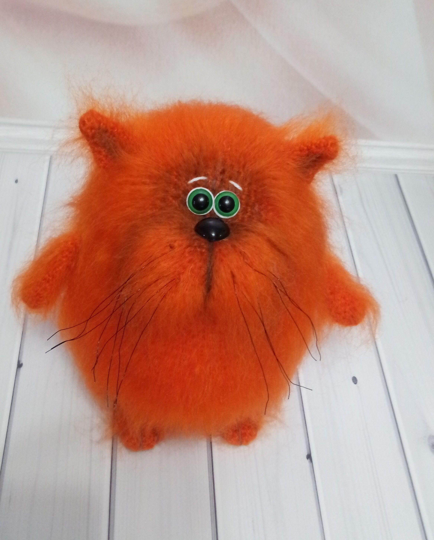 Kawaii Lying Cat Plush
