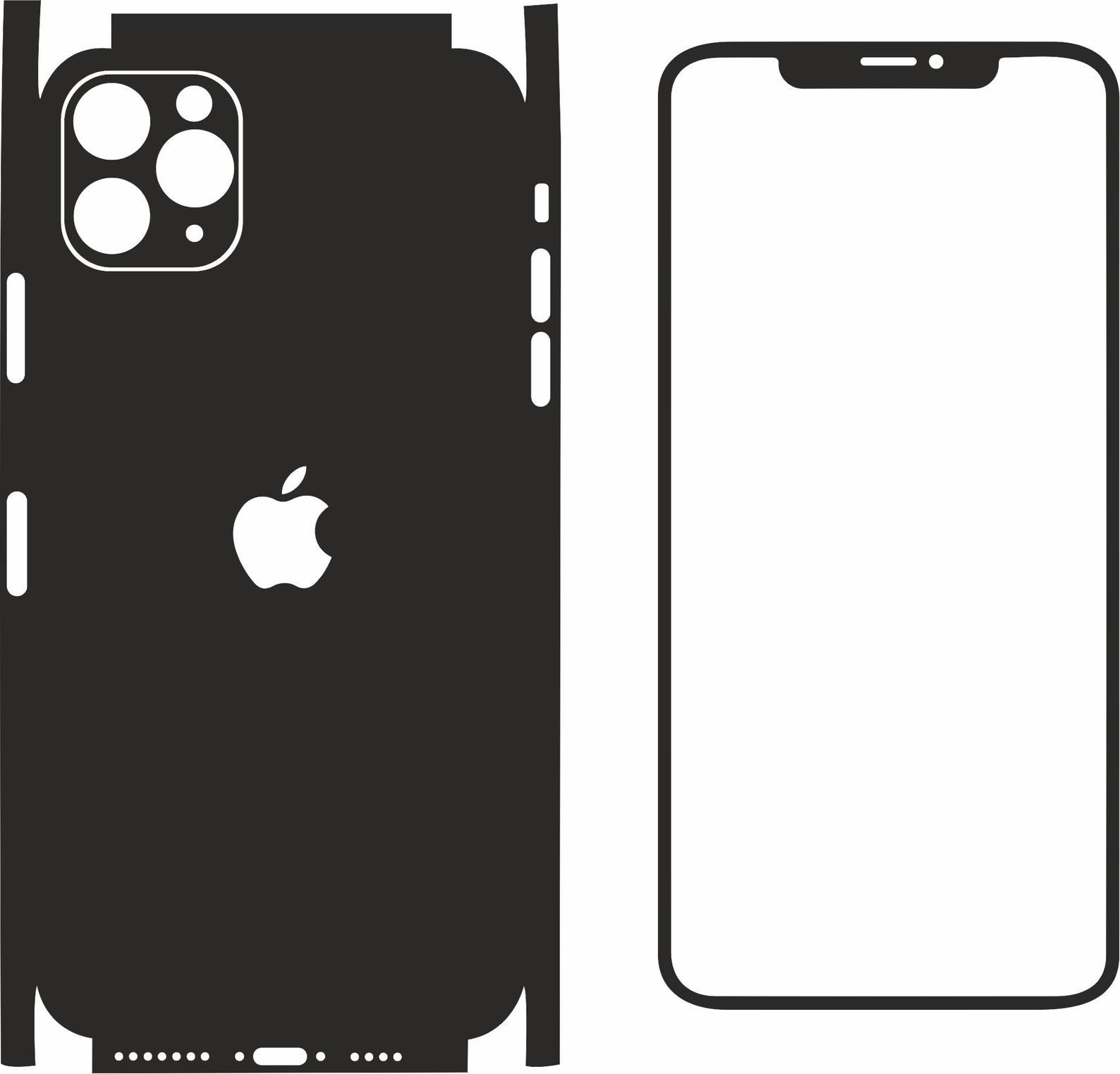 Iphone 11 Pro Max Pdf Svg Dxf Eps Ai Cdr Format Vector Etsy Iphone Iphone 11 Cell Phone Cases