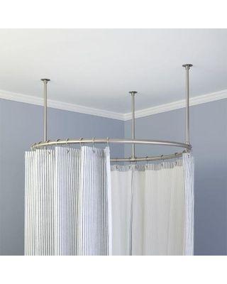 Landscape Lights Shower curtain rods, Polished brass and Hardware