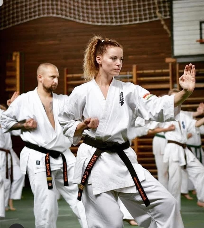 Pin on Andrea sexy dangerous Karate girl!!!!!