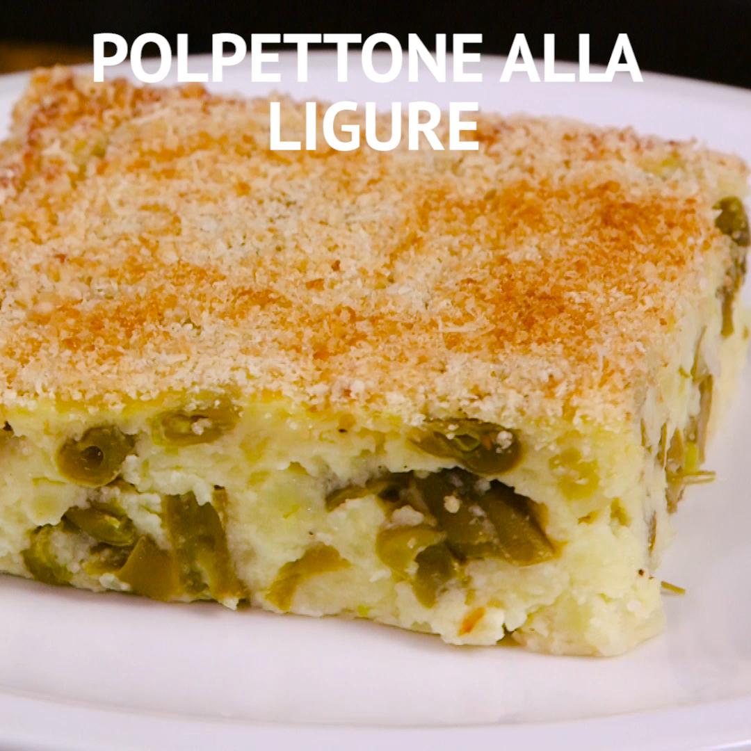 Polpettone Alla Ligure Video Ricetta Video Ricette Ricette Di Cucina Pasti Italiani