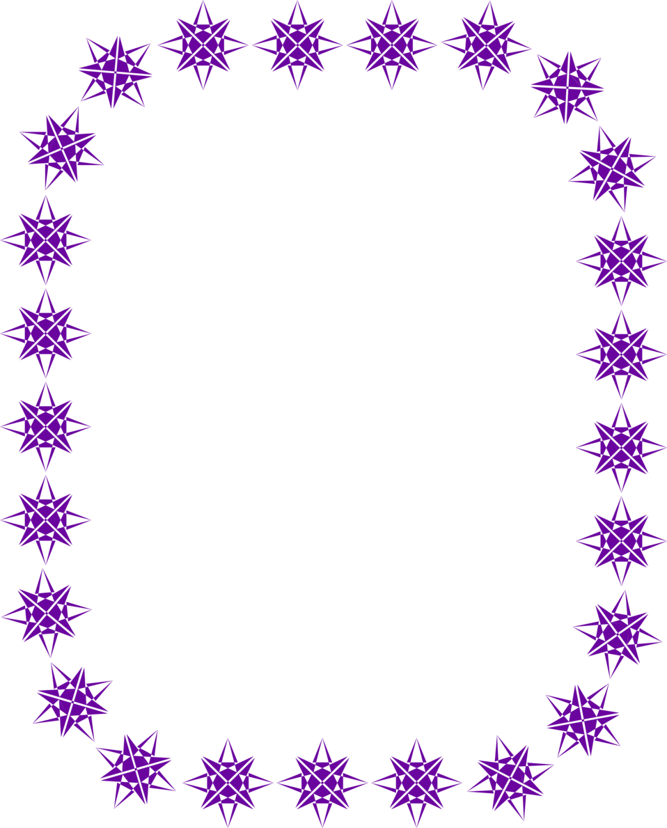 photo illustration of a blank frame border
