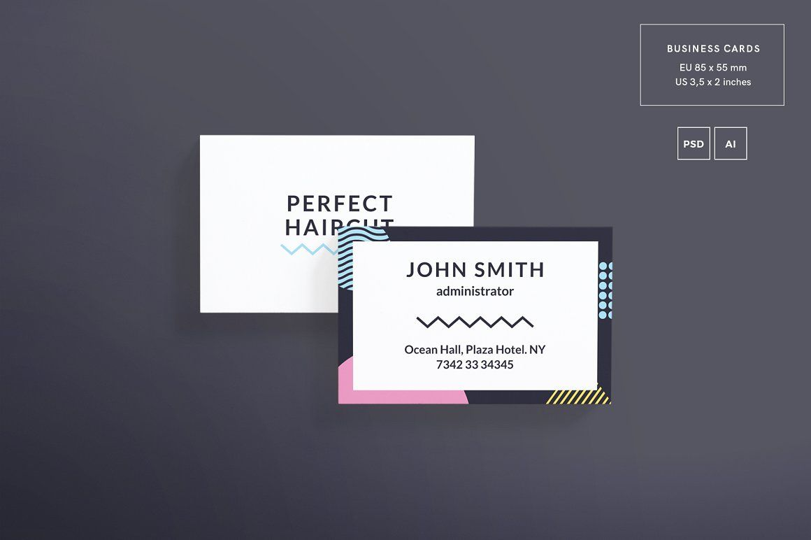 Print Pack   Perfect Haircut   Pinterest   Business cards, Card ...