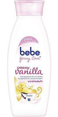 bebe Young Care vereint in seinen beiden Cremeduschen reichhaltige Pflege mit zartem Duft. Die Welt um sich vergessen und einfach nur genießen: Die beiden Cremeduschen von bebe Young Care sorgen für ein Duscherlebnis zum Wohlfühlen. Mit creamy vanilla und intensive shower cream wird die Dusch-Zeit zur Verwöhn-Zeit. Denn die Cremeduschen kombinieren pflegende Inhaltsstoffe für eine zarte Haut mit bezaubernden Düften.