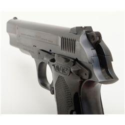 "MAB Model P-15 semi-auto pistol, 9mm cal., import-marked, 4-1/2"" barrel, no magazine, checkered plas"
