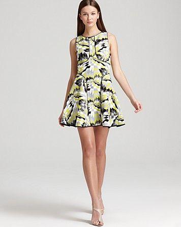 Tibi Sleeveless Dress - Isosceles Print   Bloomingdales $495 and 20% off