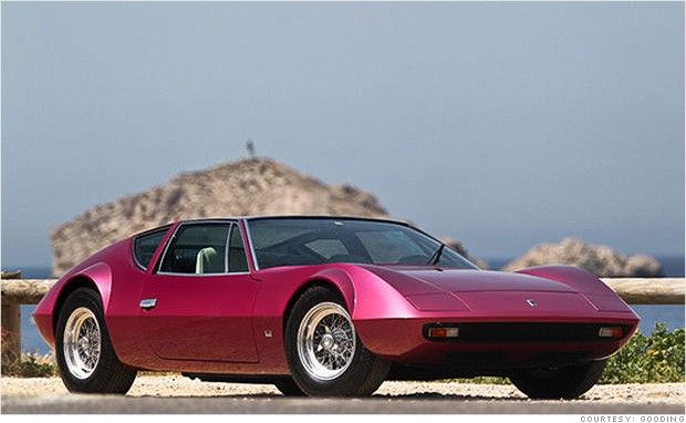 Cool Collectible Cars For Sale At Pebble Beach Switzerland Cars - Cool collector cars