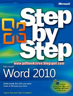 Microsoft Word 2010 step by step by Joyce Cox and Joan