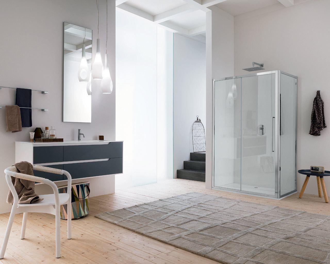 Parete doccia TRENDY DESIGN Inda Arredamento bagno