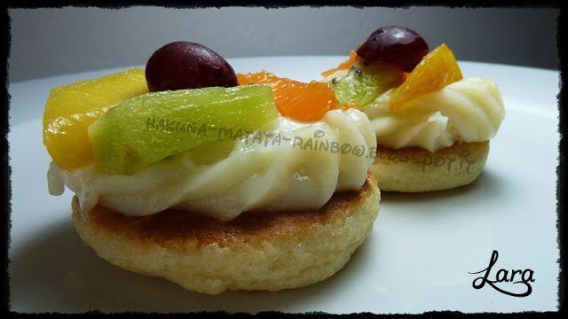 Anyone can cook...: Tortine di frutta con frolla senza burro cotta in ...
