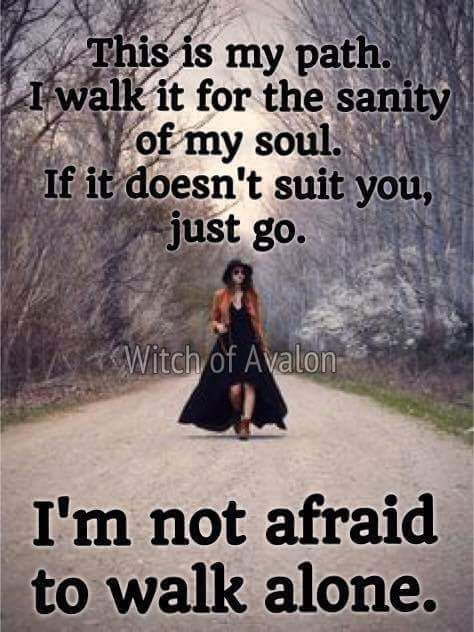 This Is My Path….. (The Witch Said What?) Witches Of The