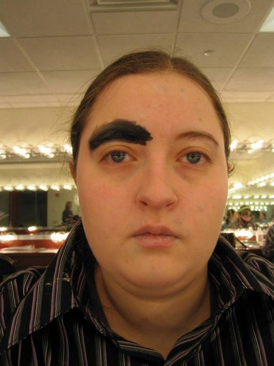 Eyebrows Out Of Control 1 The Craziest Things In The World