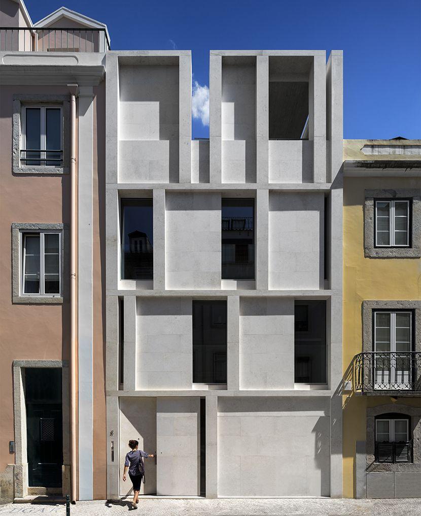 Arx Arquitectos Proyecta Una Casa En Lisboa Que Reinterpreta La