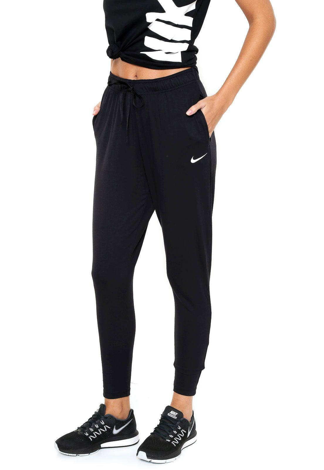 Calça Nike Jogger Flow Victory Preta | Calças nike, Calça