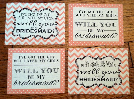 """These are the cutest! Stick these 'Will You Be My Bridesmaid"""" labels on wine bottles to ask your special ladies. #bridesmaid #willyou #wine #labels Shop: Twila  Co https://www.etsy.com/transaction/208458264"""