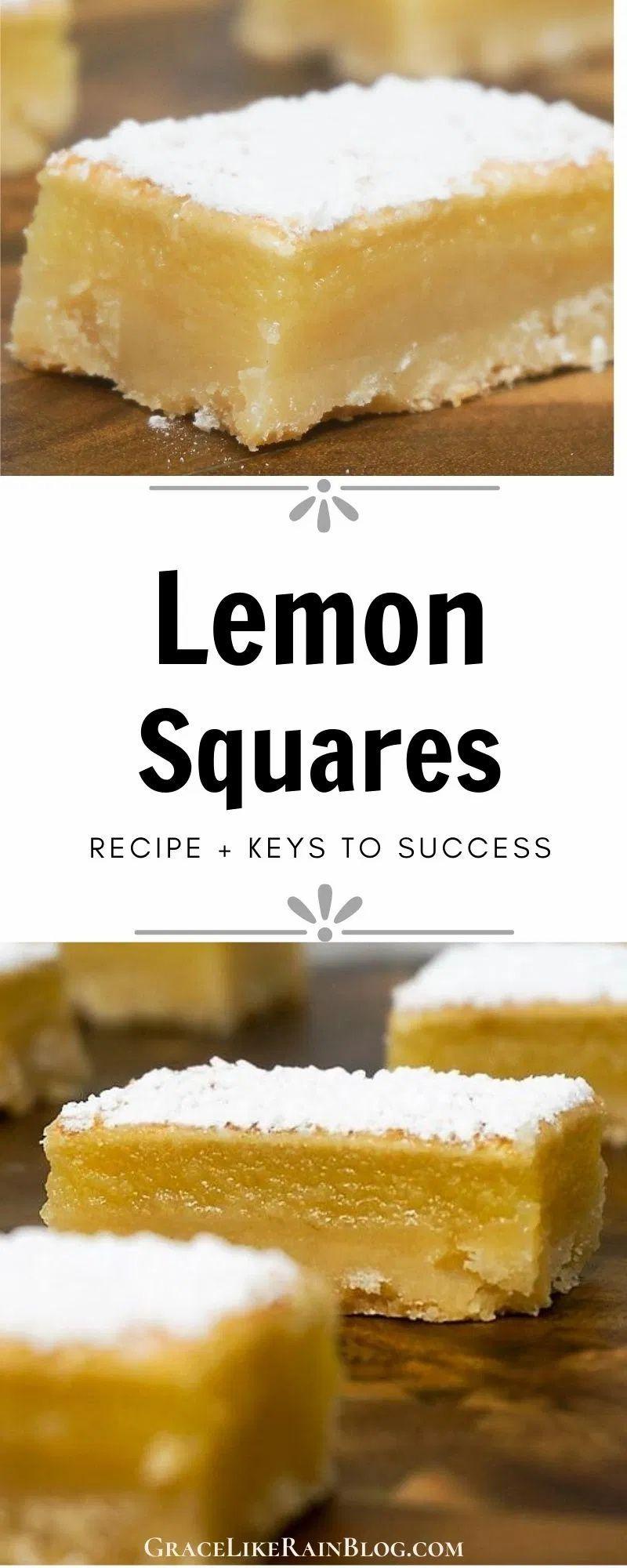 Recipe Lemon Bars